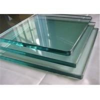 China 8mm Thickness Tempered Safety Glass / Toughened Glass Cut To Size Polished Edges wholesale