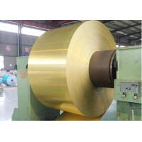 China Multipurpose Heat Exchanger Material , Color Coated Aluminium Foil Roll Type wholesale