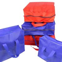 China Foldable Jumbo Quilt Non Woven Storage Bag For Blankets And Pillows Save Space on sale