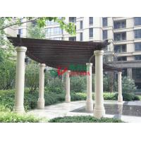 China High Density DIY Garden Pergola Kits Durable Anti - UV  No Contraction / Expansion wholesale