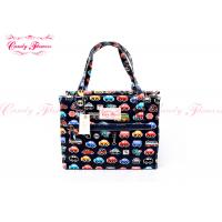 China Girls Printed Reusable Shopping Bags Lightweight Canvas For Spring wholesale