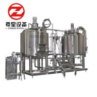 China Bright 600l Micro Brewing Systems With Fermentation Tanks PLC Controlled wholesale