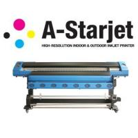 China 1440 DPI A Starjet 7702 Large Format Solvent Printer With DX7 Head wholesale