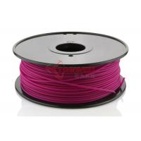 China Rapid Prototyping Purple 3D Printer ABS Filament 3 MM , 3D Print Consumable wholesale