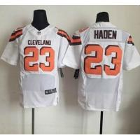Quality nike nfl browns 23 Haden football jersey cheap wholesale source for sale