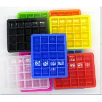 China Commercial Closed Fancy Ice Cube Trays Compact With Lid Healthy High Capacity wholesale