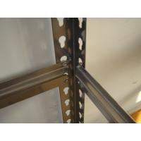 China Warehouse Steel Light Duty Racking Nice Rivet Boltless Shelving WIth Simple Structure on sale