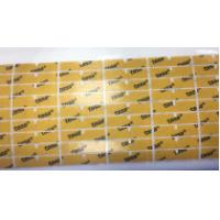 China LCD And Badge Die Cut Adhesive Tape , Acrylate Adhesive Composition Technology wholesale