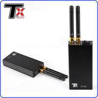China Anti Tracking Pocket Cell Phone Jammer , Car Gps Blocker With Cigar Lighter Charger on sale