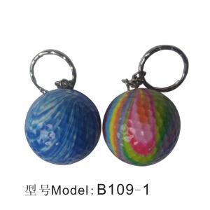 China B109 oem key ring golf ball wholesale