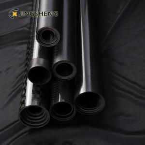 China 3 Inch 3k Fiberglass Mast Telescopic Carbon Fiber Tube on sale