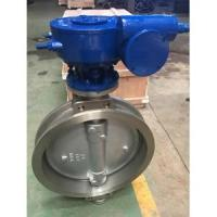 China ASTM A351 CF8 Triple Eccentric Wafer Butterfly Valves, CL150 wholesale