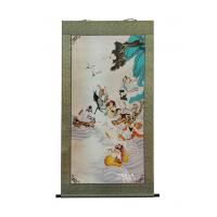 Buddha oil painting- The eight immortals-Each shows special prowess(1)