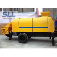 China Various Colors Electric Concrete Pump , Small Portable Concrete Pump wholesale