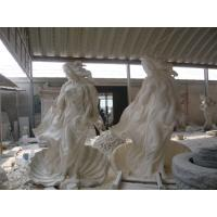 China Egyptian beige marble sculpture on sale