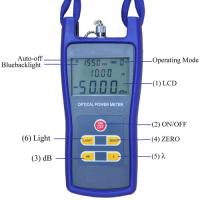 China High Precision Optical Test Instruments JZ3208 Optical Power Meter Compact Size wholesale