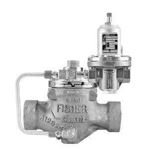 China FISHER LR125 Low Digital Pressure Reducing Liquid Gas Regulator Pressure Reducing Regulator Is Designed For Liquid wholesale