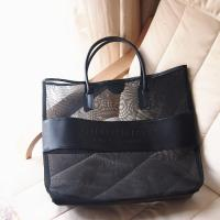 China promotional Clothes Toys Carry All Sand Away Beach Bag Mesh Tote Bag wholesale
