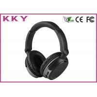 China 4.0 Bluetooth Headset Black Color , Portable Bluetooth Headset Noise Cancelling wholesale