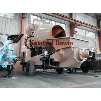 China 15m3/Hr Mixing Capacity Diesel Concrete Mixing Pump China Manufactory wholesale