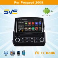 China Android 4.4 car dvd player GPS navigation for Peugeot 2008 2014 car audio bluetooth, usb wholesale