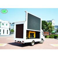 China Full color Outdoor p4.81 Mobile Truck LED Display 250mm*250mm Module Size wholesale