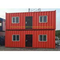 Light Steel Framing Prefab Container House 20 Feet Steel Structure