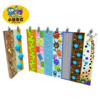 China Outdoor Plastic Amusement Park Climbing Wall Holds 1 Years Warranty wholesale