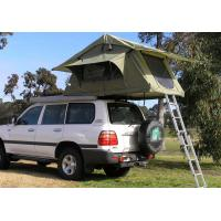 China Fireproof 4 Person Roof Top Tent , Folding Roof Tent With Large Window wholesale