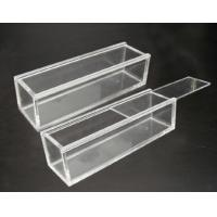 China Customized Portable acrylic display case with lock , scratch resistance wholesale