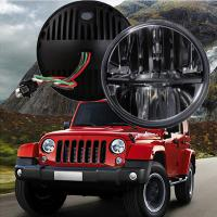 """China 60W 7"""" Fog Jeep LED Headlights With Hi / Lo H4 Or H13 For Wrangler JK wholesale"""