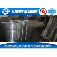 China Low Vibration Ball Bearing Slewing Ring Enternal Gear Row Cross Roller wholesale
