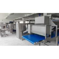 China Industrial Flat Bread Production Line 800mm Width With Various Bakery Solution wholesale