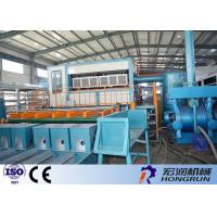 China Waste Paper Raw Material Apple Tray Making Machine / Egg Tray Forming Machine wholesale