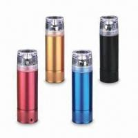 China AA Battery Emergency Charger for Mobile Phonesand, Various Colors with Different Designs wholesale