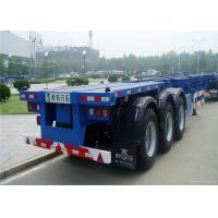 China 40ft container transportation skeleton semi trailer container chassis wholesale