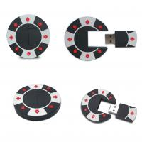 China 2014 hot sale poker chip pvc usb pendrive wholesale