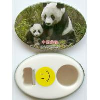Quality Multifunctional magnetic tin opener custom printed 58mm button bottle for sale
