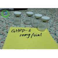 China Pharmaceutical 98% min Peptides Ghrp-6 5mg/vial 10mg/vial CAS 87616-84-0 wholesale