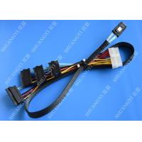 China Serial Attached SCSI SAS SFF 8087 TO SFF 8482 Cable 28AWG Multi–Port Length 65cm wholesale