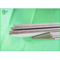 China Uncoated tough 1200gsm grey chipboard ,  grey strawboard 70x100cm recycling board on sale