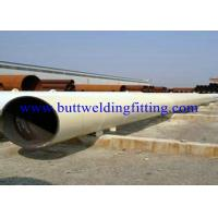 China ASTM DIN JIS Welded API Carbon Steel Pipe with Varnish Paint Surface wholesale