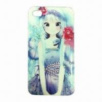 China PC Case with Diamonds, for iPhone 5, Fashionable wholesale