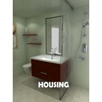 Customized Modern Bathroom Cabinets Vanities With Sink And Faucet Of Solidtimberdoor