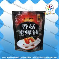 China Three-sealed Colored Printing Snack Bag Packaging Food Grade Plastic For Snack / Spices wholesale