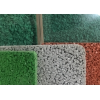China Recyclable Non Toxic Rice Shape EPDM Rubber Particles on sale