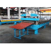 China Hydraulic Colored Roll Forming Machine 45 KW Chain Driving 80 - 500 wholesale
