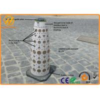 China Qatar Standard Traffic Safety Equipment / Solar Traffic Cone Solar Lights , Long life wholesale