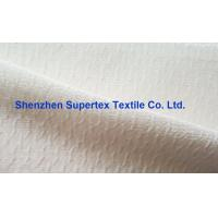 China Coat  Cotton Nylon Jacquard Crepe Silk Print Fabric In Offwhite Or Printed wholesale