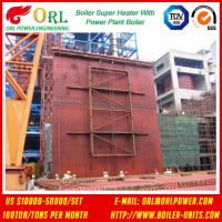 China 10T - 1000 Ton CFB Boiler Petrochemical Biomass Industry Superheater Coils High / Low Pressure wholesale